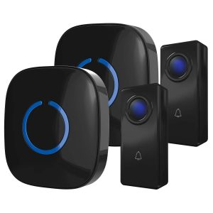 CROSSPOINT Wireless Doorbell Alert System by SadoTech