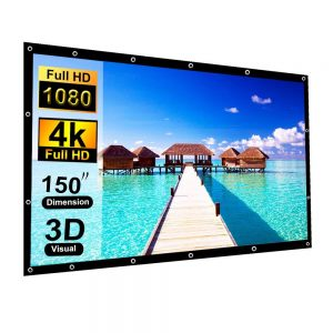 150 Inch Projection Screen Blibro