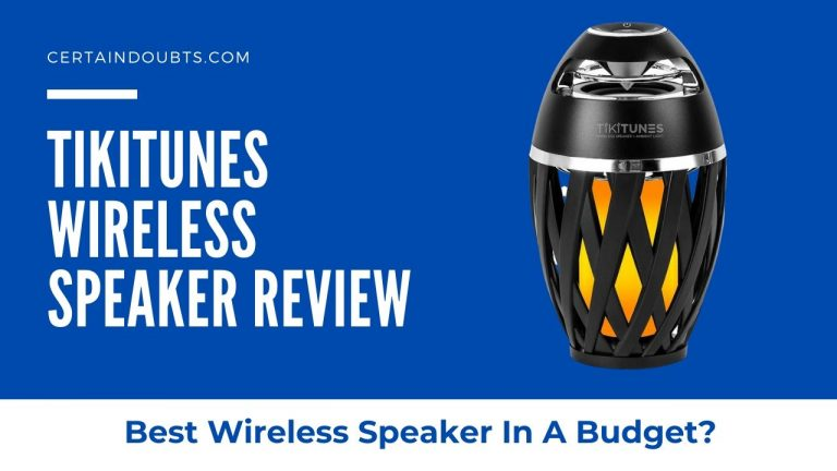 TikiTunes Review – Best Wireless Speaker In A Budget?