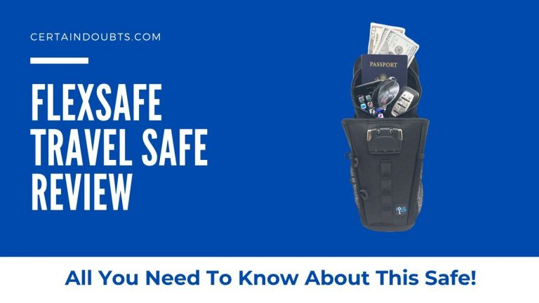 FlexSafe Review – All About This Portable Travel Safe