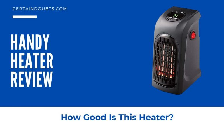Handy Heater Review – How Good Is This? Find It Out!
