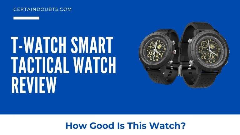 T-Watch Smart Tactical Watch Review – How Much Rugged?