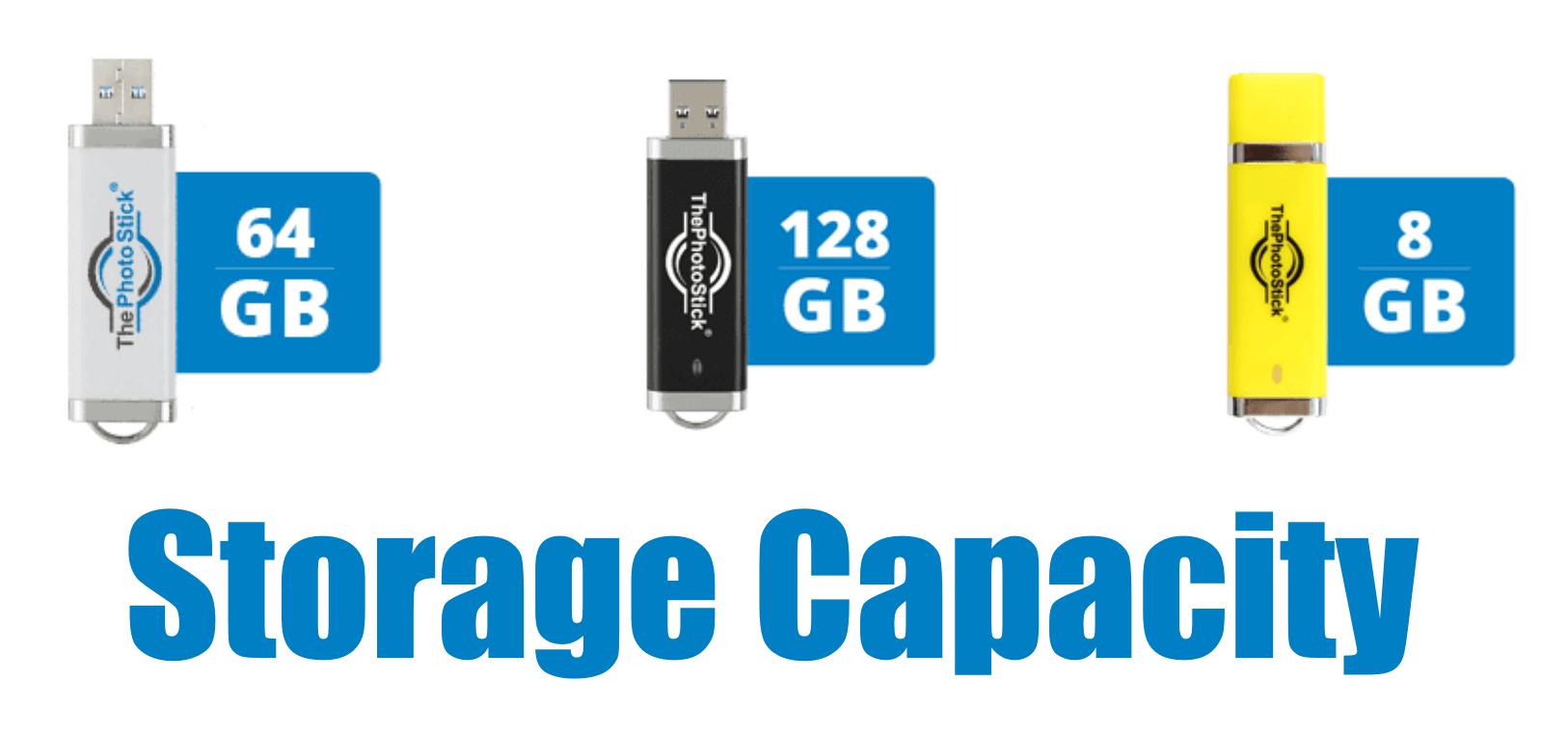 storage capacity