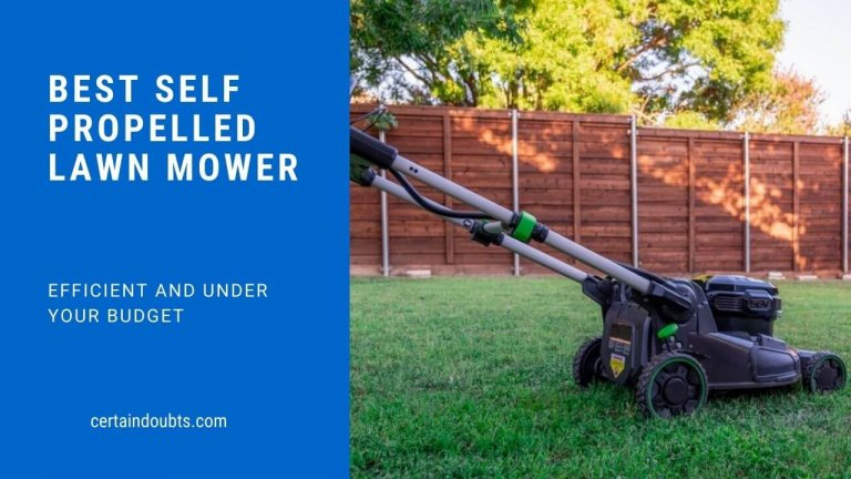 8 Best Self-Propelled Lawn Mowers (With Buying Guide)