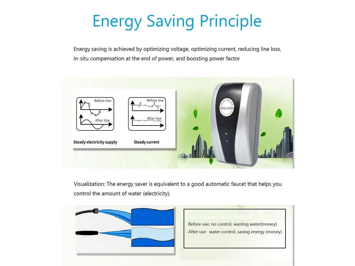energy saving principle of powervolt
